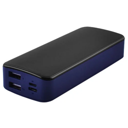 [009917] Power Bank JS-12 UNIVERSAL HIGH SPEED 2USB(1A+2A)+1Micro USB+ 1Type-C цифровой дисплей (3000mAh)